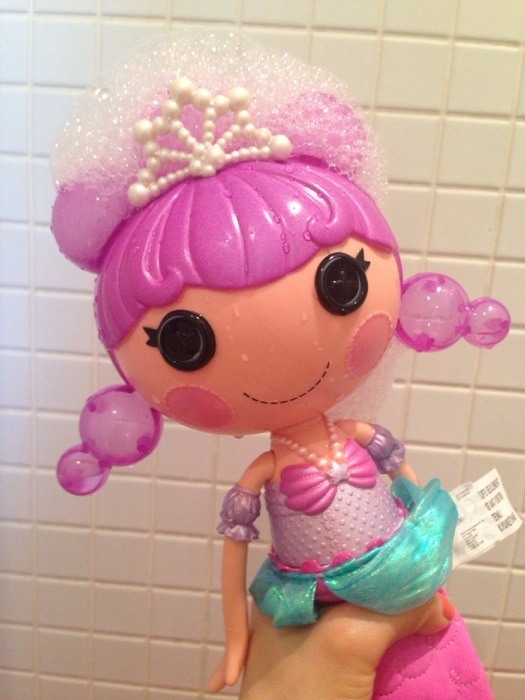 lalaloopsy hår dukke